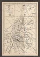 CARTE PLAN 1937 BAVIERE BAYREUTH - KARTE 1937 BAYERN - Topographical Maps