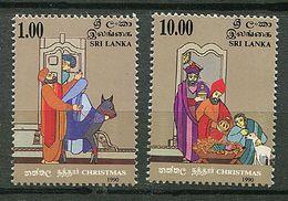 Sri Lanka ** N° 943/944 - Noël - Sri Lanka (Ceilán) (1948-...)