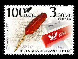 Poland 2020 Mih. 5210 Rzeczpospolita Daily Newspaper MNH ** - 1944-.... Republik