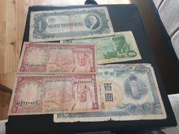 LOT 5 PIECES - SAUDI ARABIA RUSSIA ANGOLA JAPAN - Bolivia