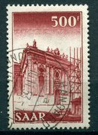 Neusaar - Michel 337 Gest. - 1947-56 Occupation Alliée