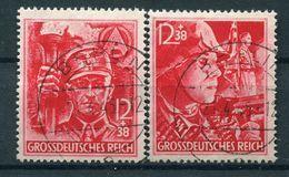 III Reich - Michel 909/910 Gest. Gefälligkeitstempel - Allemagne