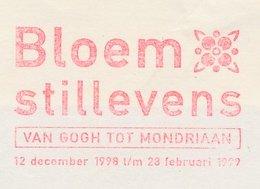 Meter Cut Netherlands 1996 Flower Still Lifes - Vincent Van Gogh To Mondriaan - Exhibition - Zonder Classificatie