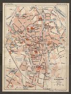 CARTE PLAN 1937 BAVIERE AUGSBURG - KARTE 1937 BAYERN - Topographical Maps