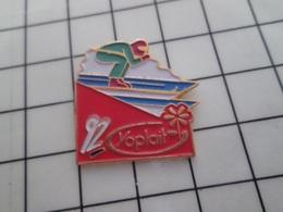 316c Pin's Pins / Beau Et Rare / THEME : JEUX OLYMPIQUES / ALBERTVILLE 1992 SKI DE VITESSE ? - Juegos Olímpicos