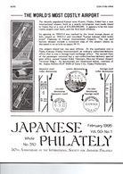 JAPANESE PHILATELY February 1995 VOL 50 N°1 - Magazines