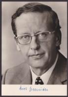 Kurt Gscheidle, Autogrammkarte Mit Unterschrift - Hommes Politiques & Militaires