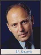 Dr. Jürgen Warnke, Autogrammkarte Mit Unterschrift - Hommes Politiques & Militaires