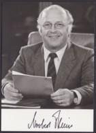 Dr. Norbert Blüm, Autogrammkarte Mit Unterschrift - Hommes Politiques & Militaires
