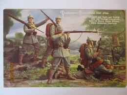 Deutschland über Alles, Einigkeit Und Recht Und Freiheit Sind Des Glückes (6987) - Guerre 1914-18