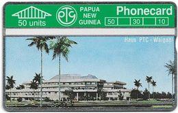 Papua New Guinea - Telikom - L&G - Haus PTC - Waigani - 112B - 03.1992, 50U, 12.000ex, Mint - Papouasie-Nouvelle-Guinée