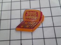 316c Pin's Pins / Beau Et Rare / THEME : INFORMATIQUE / MINITEL 3615 NAF-NAF - Informatique