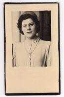 Doodsprentje VROUW FEMME Jenny VAN POUCKE °1930 ST-AMANDSBERG +1955 ZAFFELARE // TOLLENAERE - Andachtsbilder