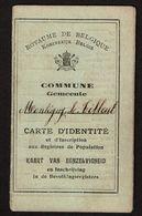 Carte Identité 1922 - Commune De MONTIGNY-le-TILLEUL - Georges CROQUET Né En 1862  - 2 Scans - Historische Dokumente