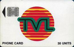 Vanuatu - TVL Logo, SC7 Afnor, Cn. C37141962, 30U, 07.1993, Used - Vanuatu