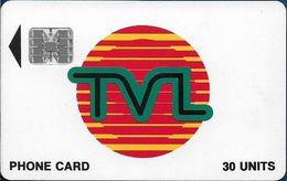 Vanuatu - TVL Logo, SC7 Afnor, Cn. C37141963, 30U, 07.1993, Used - Vanuatu