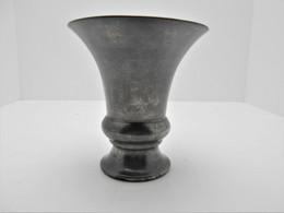 Ancien Vase étain Pur Depoorter's Zuiver Tin Holland - Etains
