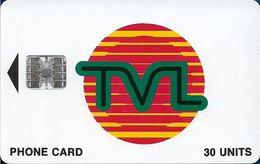 Vanuatu - TVL Logo, SC7 ISO, No Cn., 30U, 01.1997, Used - Vanuatu