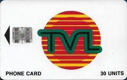 Vanuatu - TVL Logo, SC7 ISO, Cn. 0287111 Embossed, 30U, Used - Vanuatu
