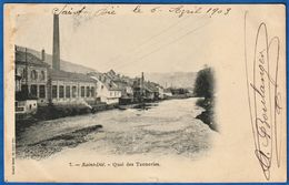 CPA 88 SAINT DIE - Quai Des Tanneries - Saint Die