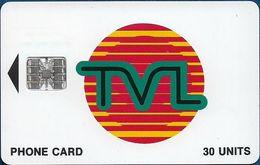 Vanuatu - TVL Logo, SC7 ISO, Cn. 0458150/C98033804 At Right, 30U, Used - Vanuatu