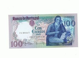 PORTUGAL- Billet 100 Escudos Ouro (JS 80317) Du 2 Septembro 1980 - N E U F + Idem Très Usagé (MR 40979)+cadeau 50 Esc(CF - Portugal