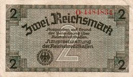GERMANY-. 2 REICHSMARK 1940 **CIRC.   P-R137b  CIRC - Sonstige