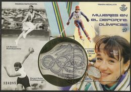 2020-ED. 5415 H.B. -Mujeres En El Deporte. Olímpicas. Blanca Fdez. Ochoa- USADO - Blocks & Sheetlets & Panes