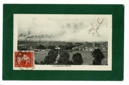 Vue Générale D'Imphy ( Cheminées, Usine, Ville) Circulé Date Illisible - Autres Communes
