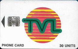 Vanuatu - TVL Logo, SC7 ISO, Cn. 0505031/C08041743 At Left, 30U, Used - Vanuatu