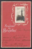 +++ CPA - Fantaisie - BRUSSEL - Souvenir De BRUXELLES - Hôtel De Ville - Relief Embossed  // - Bruxelles-ville