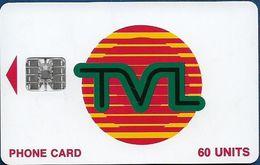 Vanuatu - TVL Logo, SC7 ISO, No Cn., 60U, 01.1997, Used - Vanuatu
