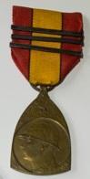 Militaira. Médaille Décoration Belge Guerre 14-18. Médaille Commémorative. Herinnerinsmedaille. - Belgique