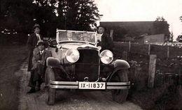 Photos Originale 4 Gangster En Citroën C4 G Torpedo 1931 - Auto's