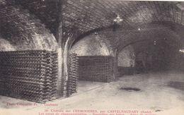 Aude - Château Des Chemineries Par Castelnaudary - Caves De Champagnisation - Bouteilles Sur Lattes - Prise De Mousse - Castelnaudary