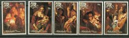 Aïtutaki ** N° 476 à 480 - Noël - Tableaux De Rembrandt - Aitutaki