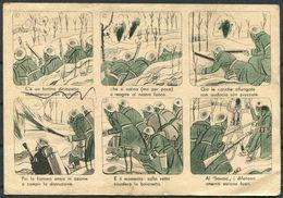1943 Italy Cartolina Postale Per Le Forze Armate, Illustrated Stationary Postcard. Posta Militare 114 - Military Mail (PM)