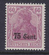 Dt.Bes.1.WK Etappe West MiNr. 9a ** - Occupation 1914-18