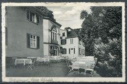 AK Aus KASSEL, Parkrestaurant Schloß Schönfeld (1938) - Kassel