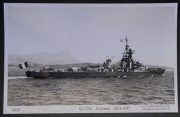 B14 Bateau  Croiseur  Gloire  Carte Photo Marius Bar - Guerre