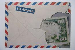 """Monnaies Représentations """"L'enveloppe Aux 50 Dollars"""" D'après Pierre DUCORDEAU - Monedas (representaciones)"""