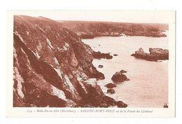 BELLE ILE EN MER (56) Sauzon Port Puce Vu De La Pointe Du Cardinal - Belle Ile En Mer