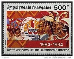 Polynésie, N° 458** Y Et T - Polynésie Française