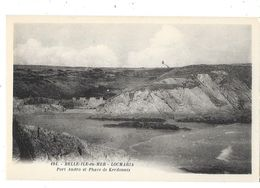 BELLE ILE EN MER (56) Locmaria Port Andro Et Phare De Kerdonnis - Belle Ile En Mer