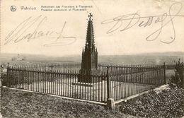 WATERLOO - Monument Des Prussiens à Plancenoit / Prussian Monument At Plancenoit. Brabant Wallon. - Monumentos