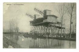 Imphy - Le Transbordeur (wagonnet Descendu Et Deversé Dans Un Chaland ) Circulé 1911 - Autres Communes