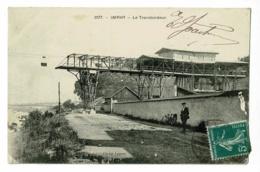 Imphy - Le Transbordeur (wagonnets Passant Par Dessus La Rivière, Animation ) Circulé 1911 - Autres Communes