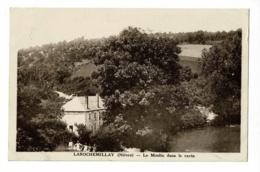 Larochemillay - Le Moulin Dans Le Ravin ( Animation ) - Circulé - Autres Communes
