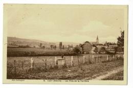 Luzy - Les Prés De La Perrière - Circulé 1937 - Autres Communes