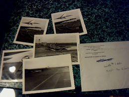 Aviation Archives Algérie Aéroports D'Oran La Senia  Photos Accidentl Caravelle 28:12:1960 - Aviación
